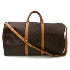 Louis Vuitton bandouliere keepall 60 with strap